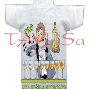 Tričko dárkové na láhev Pro nejlepšího muzikanta
