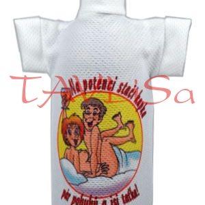 Tričko dárkové na láhev Na potenci stačí kapka