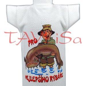 Tričko dárkové na láhev Pro Nejlepšího Rybáře obr2