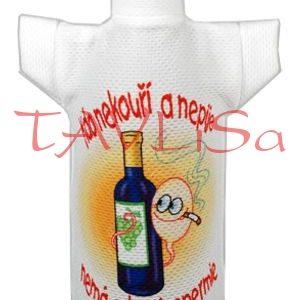 Tričko dárkové na láhev Zdravé spermie