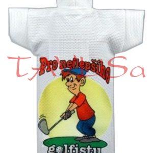 Tričko dárkové na láhev Pro nejlepšího golfistu