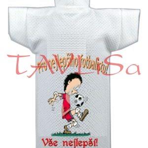 Tričko dárkové na láhev Pro nej. fotbalistu mladík