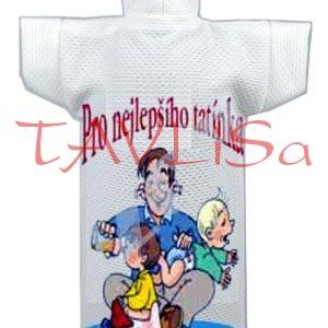 Tričko dárkové na láhev Pro nejlepšího tatínka