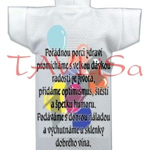 Tričko dárkové na láhev Univerzální přání