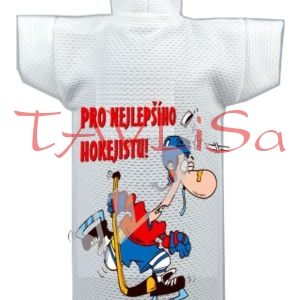 Tričko dárkové na láhev Pro nejlepšího Hokejistu!
