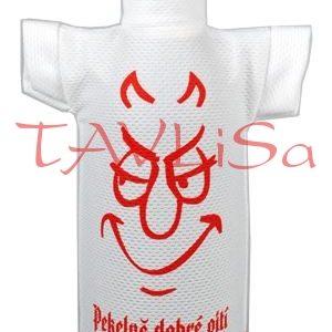 Tričko dárkové na láhev Pekelně dobré pití