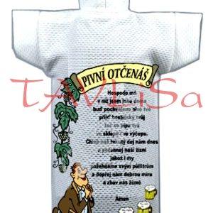 Tričko dárkové na láhev Pivní otčenáš