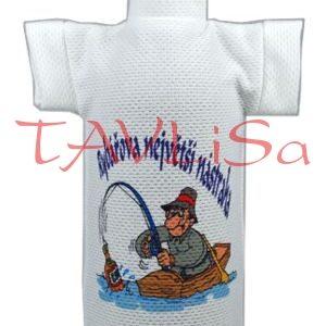 Tričko dárkové na láhev Rybářova největší nástraha