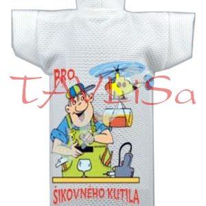 Tričko dárkové na láhev Pro šikovného kutila
